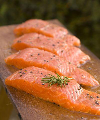 These fillets are from genetically engineered salmon.