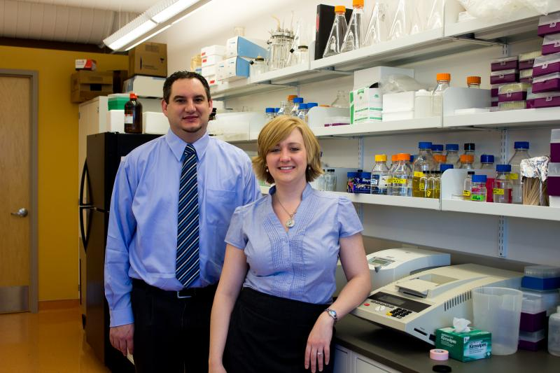 Katie and Brian Thompson started Elemental Enzymes a few years ago.