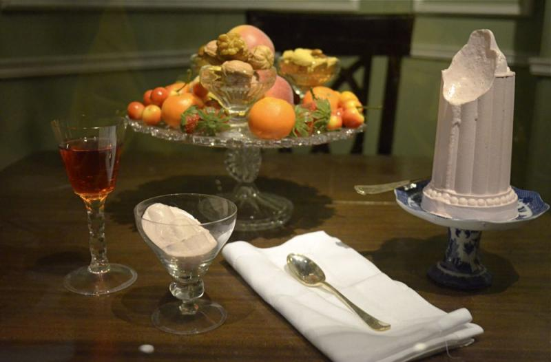 Ices made from damsom plums, currants, caramel, cream and sugar were eaten by the writer Jane Austen at home in Kent.