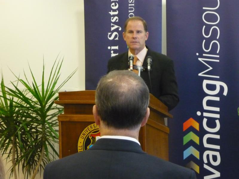 UM System President Tim Wolfe