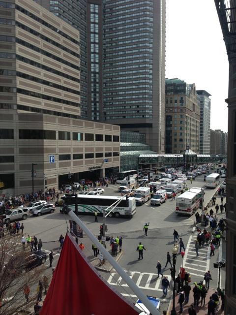 Emergency vehicles in Boston