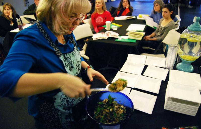 Johnna Perry, who has celiac disease, teaches gluten-free cooking classes in Liberty, Mo. She estimated that half her students are eating gluten-free by choice, not medical necessity.
