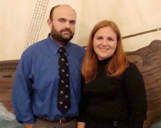 Photo of Regina Holliday and her husband prior to 2009. Frederick Allen Holliday II died in June of 2009.