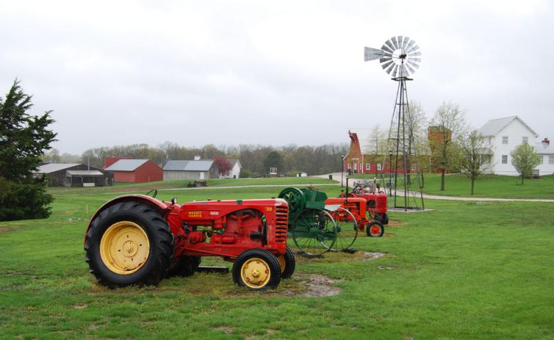 The National Agricultural Center and Hall of Fame, in Bonner Springs, Kan., has way more than 8,000 square feet devoted to farming.
