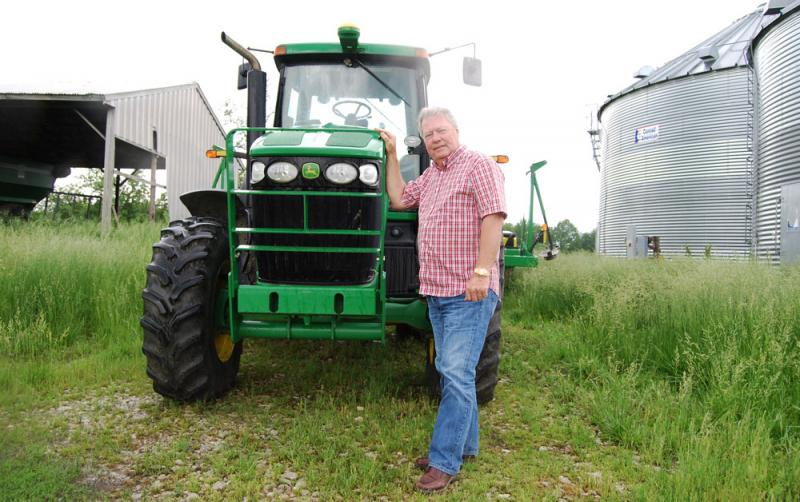 Jim Schulte and his wife, Rita, bought their 450-acre farm near Columbia, Mo., in 1991, but didn't start farming full time until Jim finished working in the mortgage business.