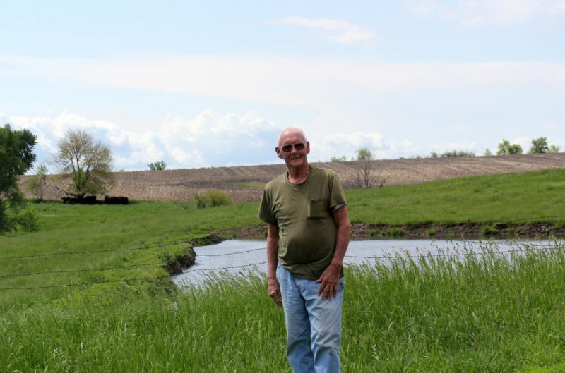 The Arganbright family doesn't yet have formal plans for how land ownership will transition.