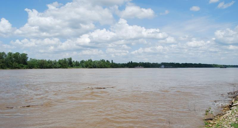 The USGS has been studying water quality on the Missouri River for decades.