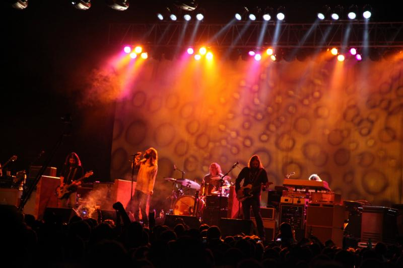 The Black Crowes at Roots N Blues N BBQ festival.