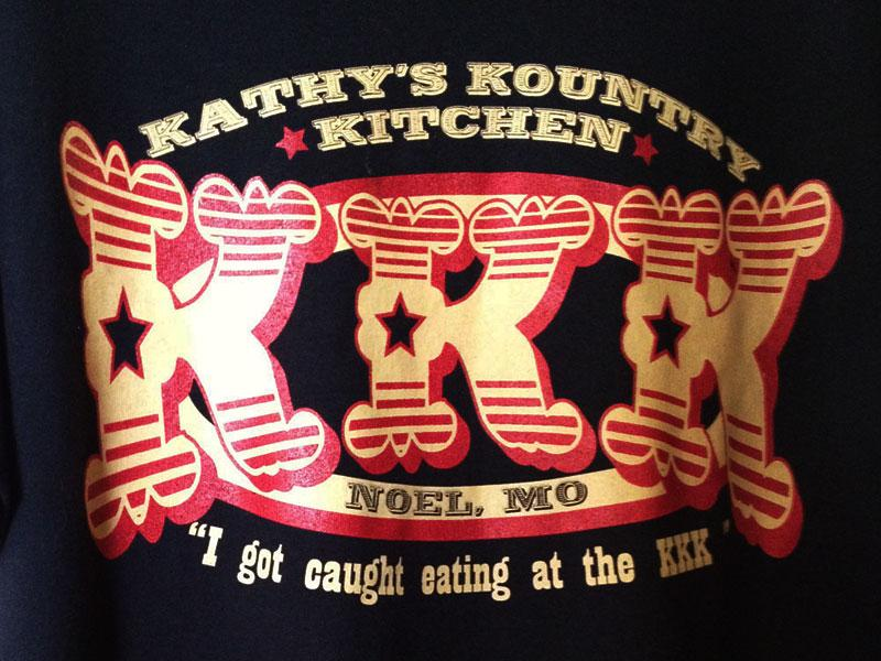 Somalis say they are not welcome at Kathy's Kountry Kitchen, a diner on Main Street where servers wear t-shirts saying 'I got caught eating at the KKK'.