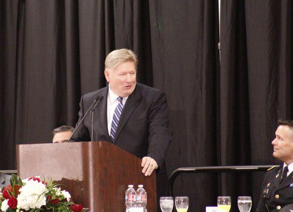 Hal Donaldson is the CEO of Convoy of Hope. He was the featured speaker of the 2014 Governor's Prayer Breakfast.