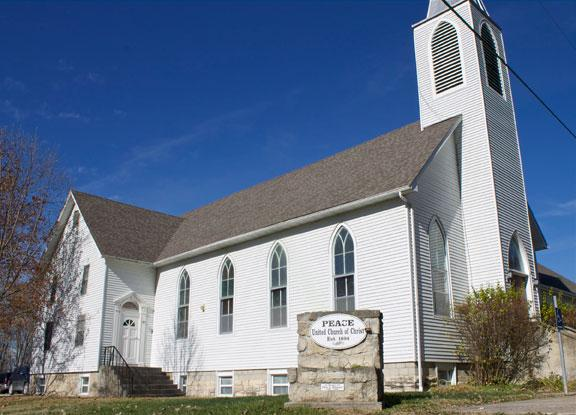 Peace United Church of Christ in Hartsburg, Mo.