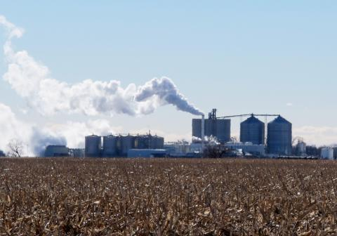 Just outside of Central City, Neb., is the Green Plains Energy ethanol plant, a facility that can produce 100 million gallons of ethanol each year.