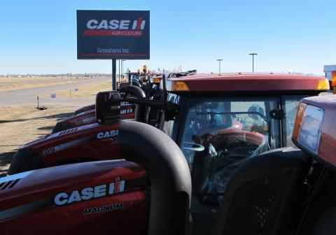 Farmers loaded up on new tractors and other machinery while grain markets were booming. Kent Grosshans doesn't think business will dry up based on EPA's decision on the ethanol mandate.