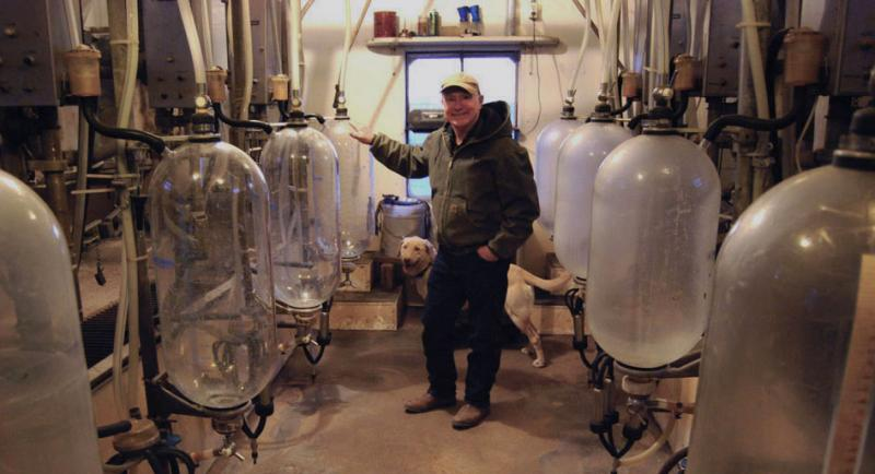 Donnie Davidson plans to sell the milking equipment in his parlor this spring. Instead of staying in the dairy business, he is building a beef herd and growing corn and soybeans.