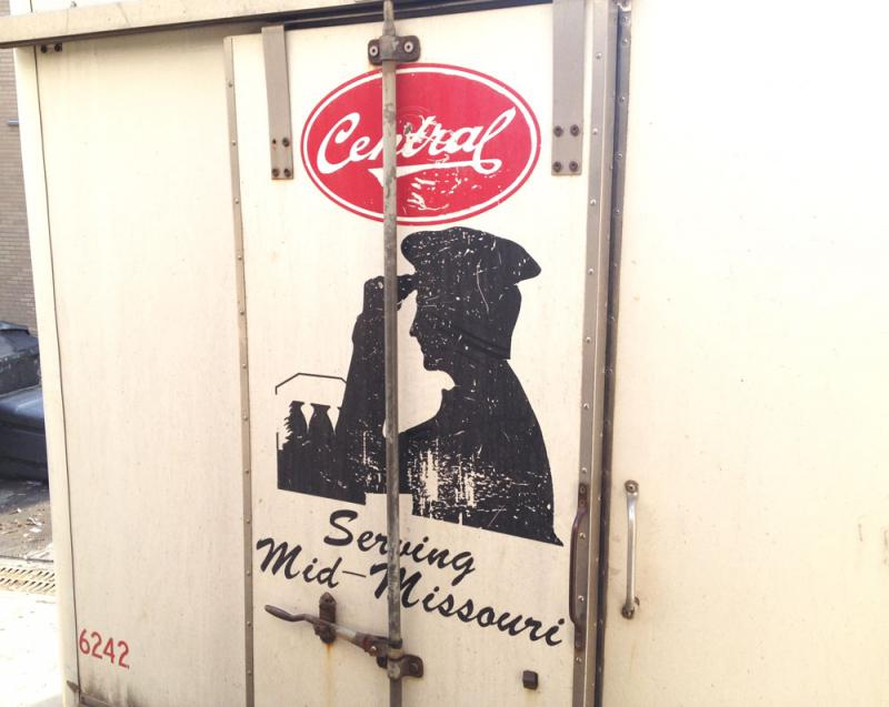 Milk that Central Dairy delivers is kept behind doors secured with three-inch long padlocks.