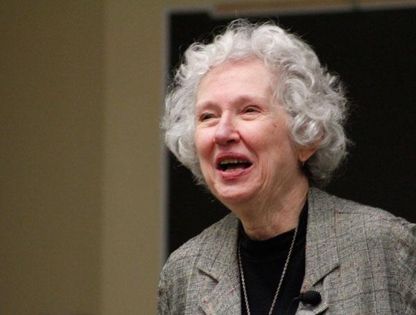 "Phyllis Tickle, a respected authority on religion, speaks about how she sees Christianity being reshaped. She spoke in Columbia for an event called, ""What is the Future of Faith?"""