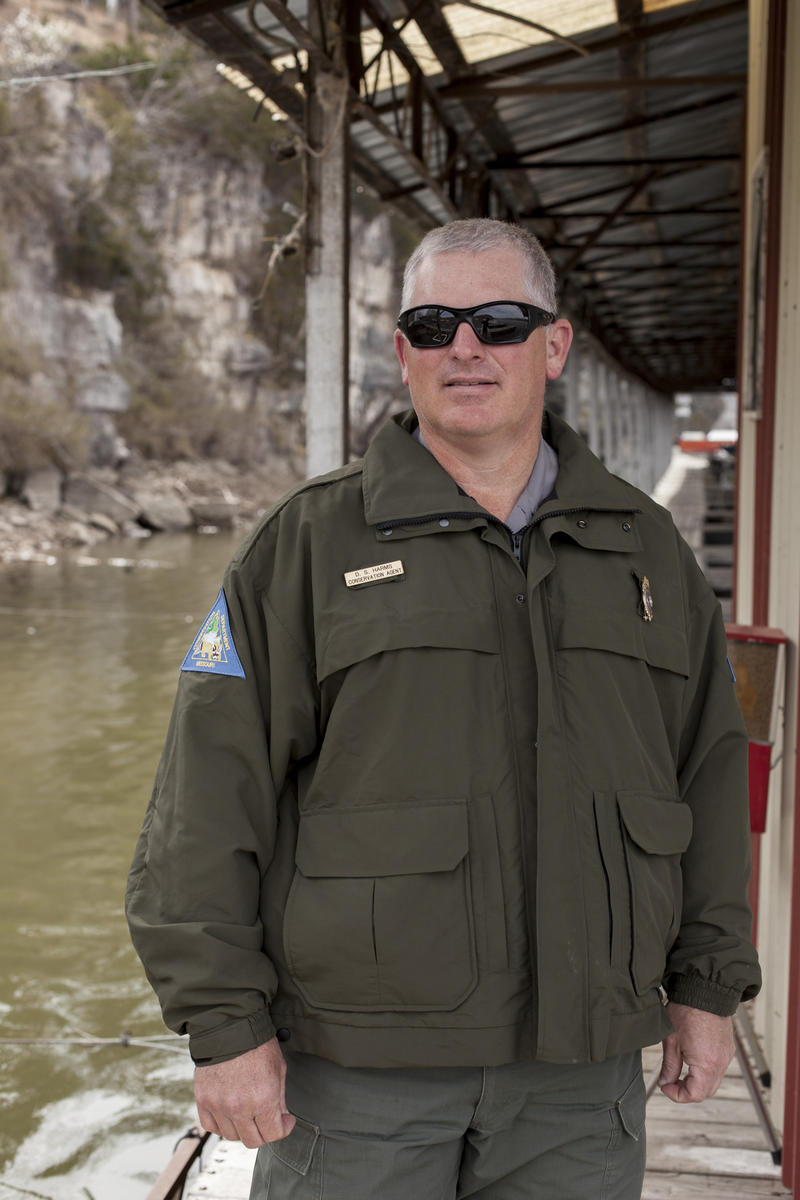Missouri Conservation Agent David Harms