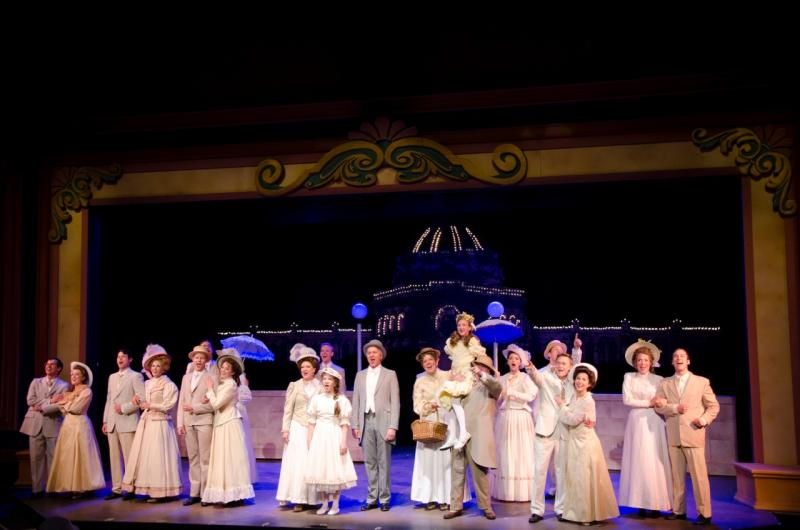 A scene from the 2013 Meet Me in St. Louis production at Arrow Rock Lyceum Theatre.