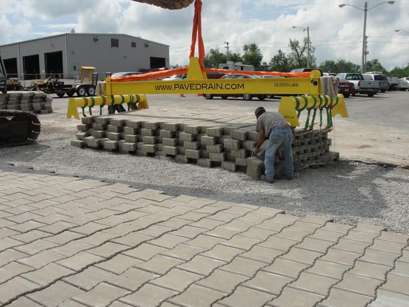 PaveDrain Installation