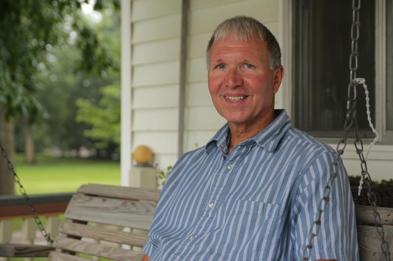 Craig Pfantz, who served as his district's soil conservation commissioner for 16 years, enrolled in Unilever's Sustainable Soy program when it started three years ago.