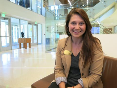 Colorado State University senior Aubriel Jones says she's already being recruited for jobs by large agribusinesses.