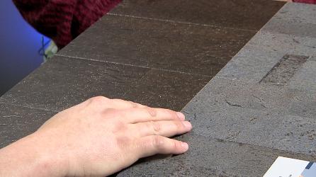 Cork flooring from Carpet One