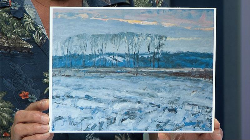 "Brian Mahieu's ""Winter Sunset Looking North"""