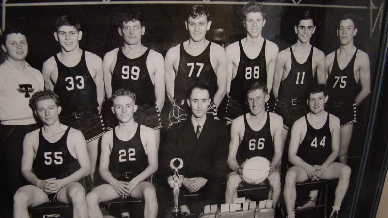 Tarkio College's 1940 national championship basketball team