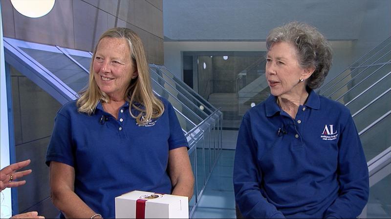 Ann Denny and Sue Hoevelman