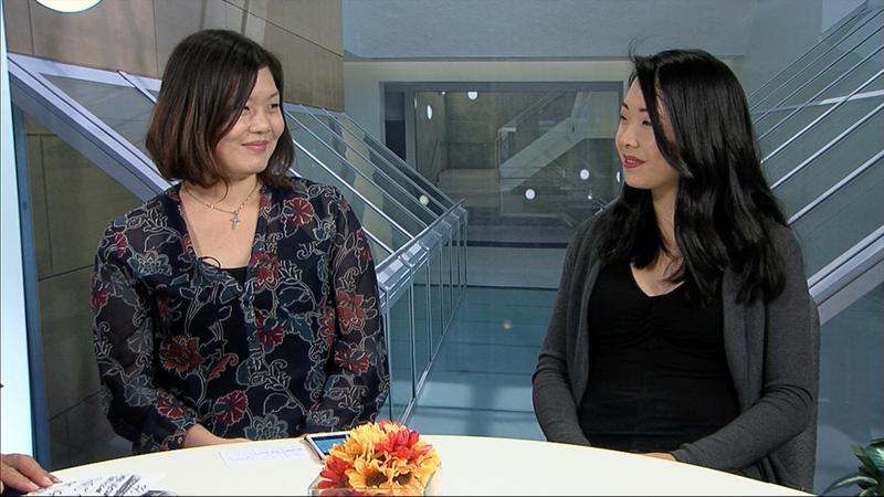 Charis Chan and Kat Nguyen