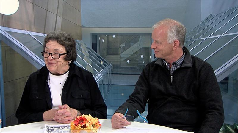 Cindy Mustard and Ed Hanson
