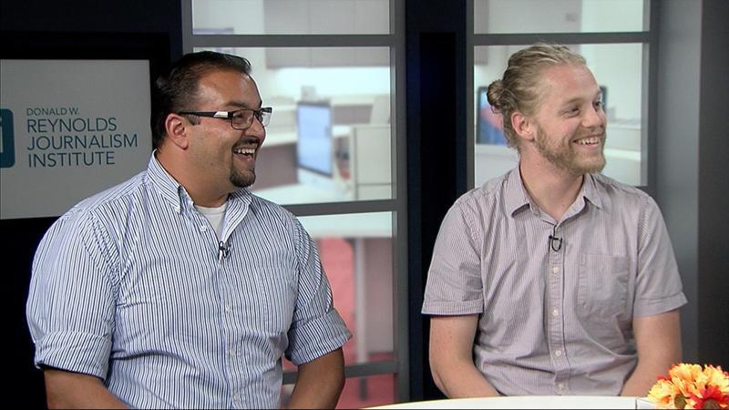 Joshua Lehto and Brandon Sankpill