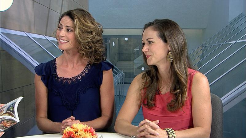 Rachel Tiemeyer and Polly Conner
