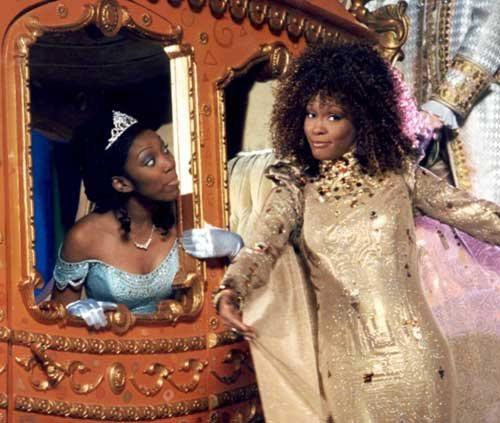 Brandy and Whitney Houston in Rogers and Hammerstein's Cinderella