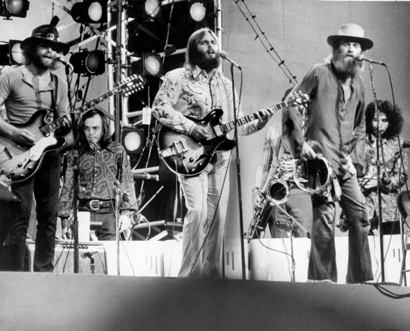 Love performs in 1971.