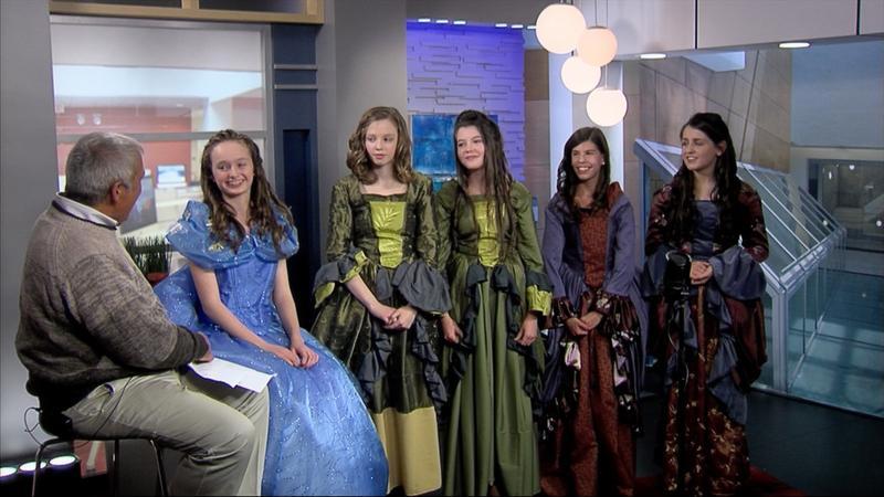 "The cast of ""Cinderella"""
