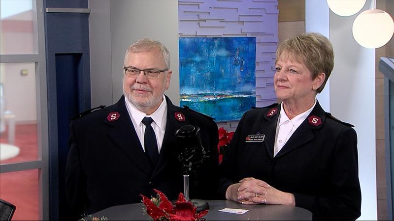 Majors Jack and Nancy Holloway