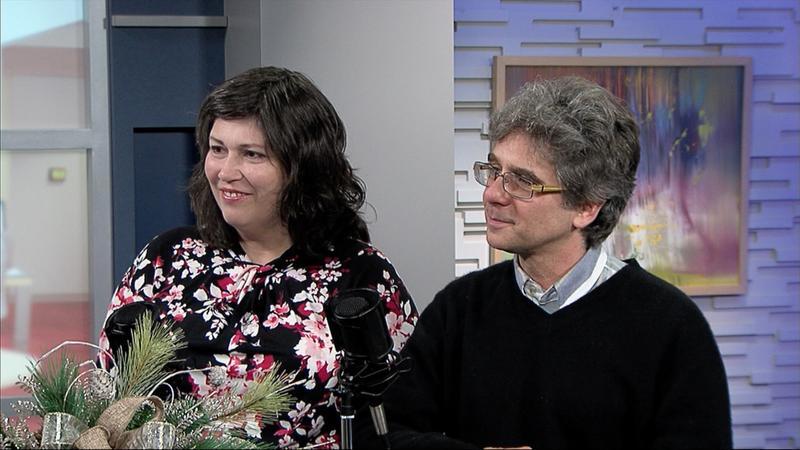 Rebecca Talbert and Patrick Clark