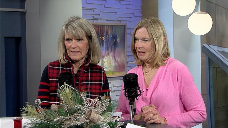 Donna Beckett and Sandra Flaker