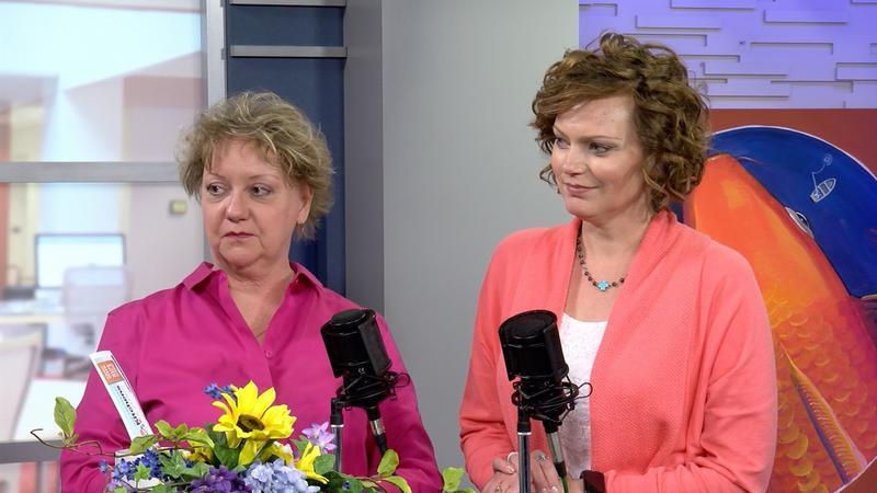 Rose Vomund and Angela Holloway