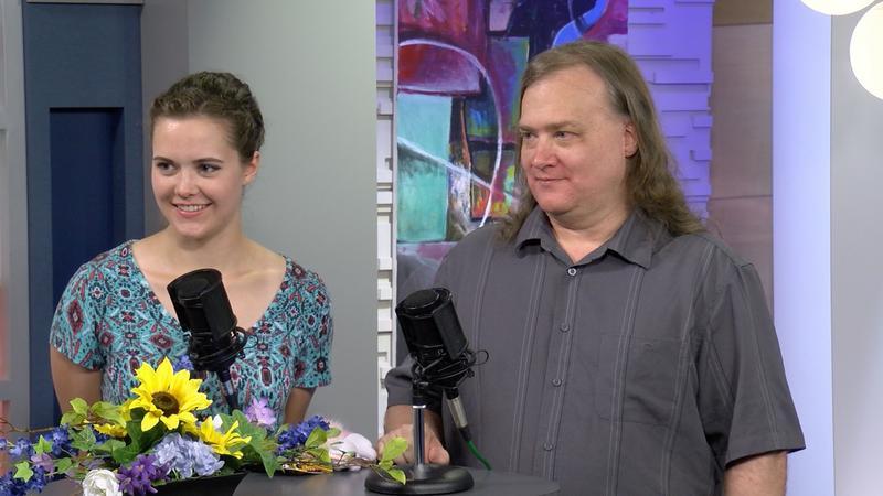 Catherine Barnard and Aaron Hunsley