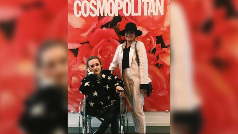 Madi Lawson, left, and Jessie King, right, attended New York Fashion Week together in February 2017. They attended shows, met designers, toured several fashion and beauty publications and attempted to navigate the not-so-accessible streets of New York.