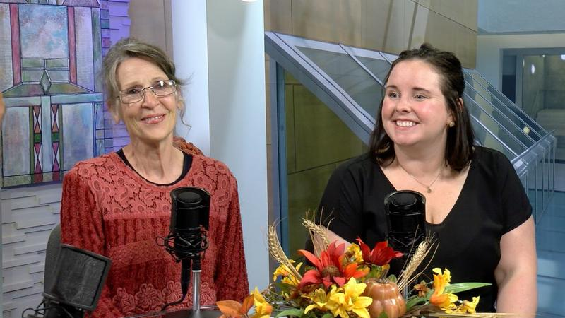 Catherine Parke and Kathleen Johnson