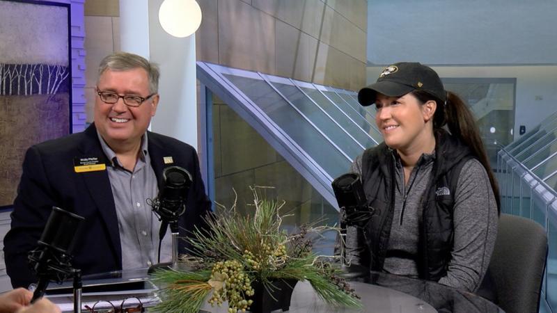 Wally Pfeffer and Ally Cunningham