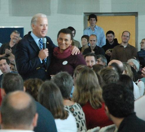 Joe Biden at Democrat Rally