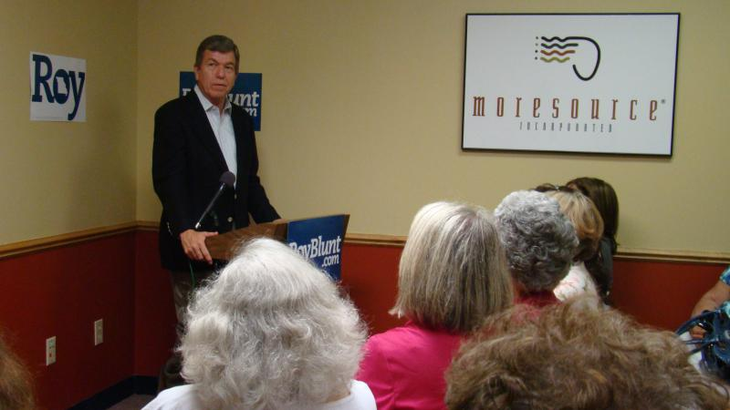 """Sen. Roy Blunt (R-Mo.) says the speed of the rebuilding of Birds Point Levee is """"unacceptable."""""""