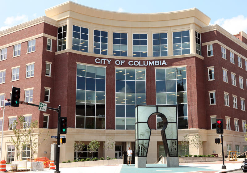 "The Columbia City Council originally passed a measure in February declaring some parts of the city ""blighted."""