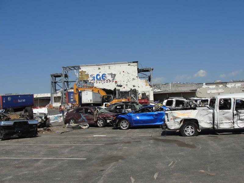 The EF-5 twister killed 161 people in Joplin.