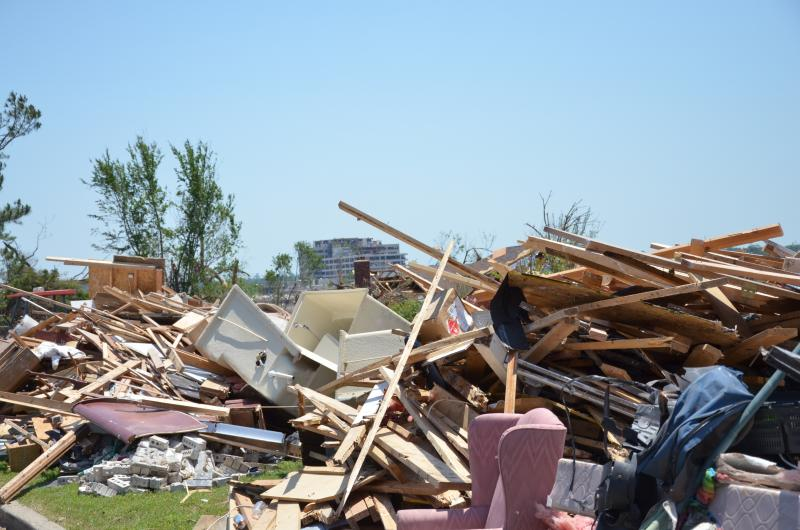 The Joplin tornado killed 161 people.
