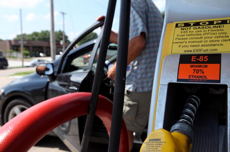 Ethanol pump detail